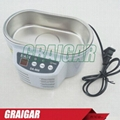 DADI DA-968 220V or 110V Stainless Steel Dual 30W/50W Ultrasonic Cleaner