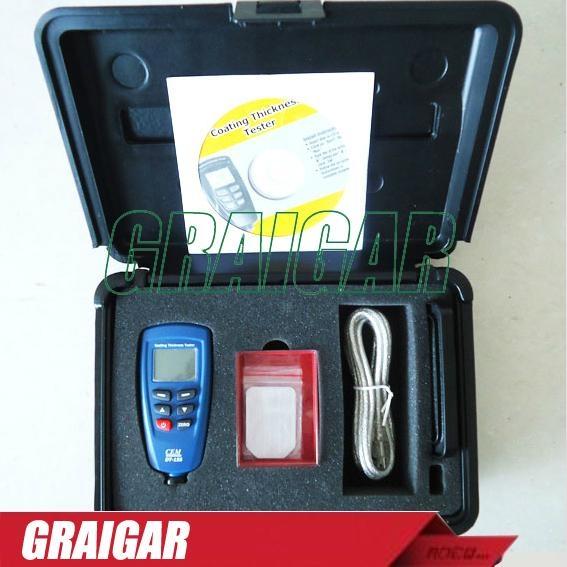 Digital DT-156 Paint Coating Thickness Gauge Meter Tester 0~1250um 3