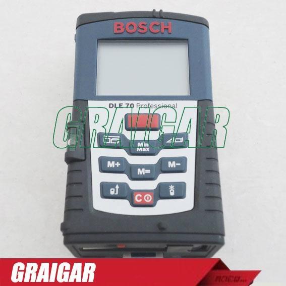 BOSCH DLE70 Laser Distance meter Measure 70m Range Metric & Imperial Measuring 1