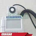 TASI-630 Digital Light Meter Luxmeter LCD Backlight PEAK-HOLD 50mS pulse light a 3