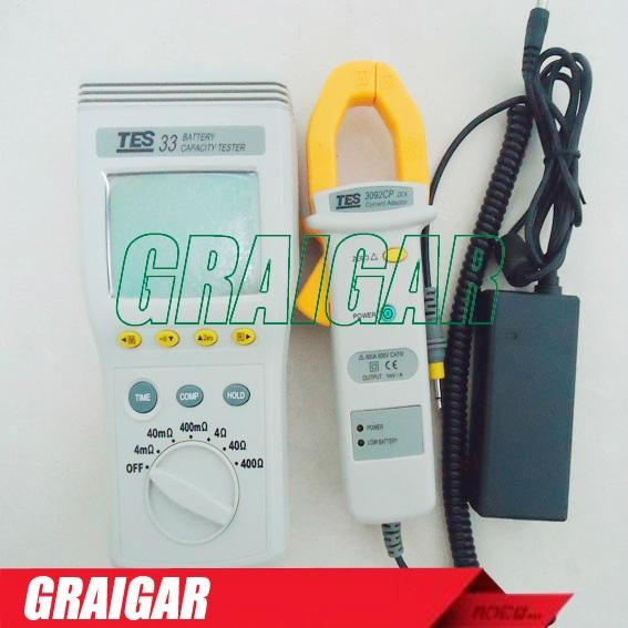 TES-33 Battery Capacity Tester 4