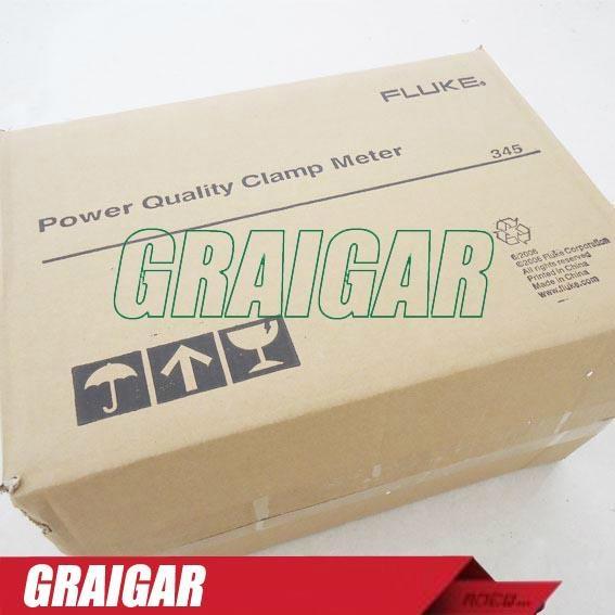Fluke 345 Power Quality Clamp Meter 5
