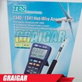 TES-1341 Hot-Wire Anemometer with USB Interface