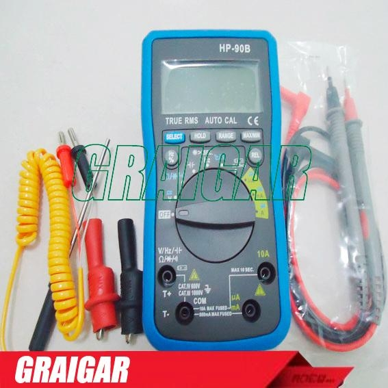 HP-90B CAT IV Advanced digital Multimeter 2