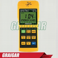 TM-192 Auto range & auto power 3-axis Magnetic  Field Meter 30HZ-2000HZ