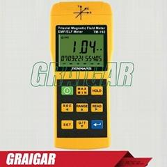 TM-192 Auto range & auto power 3-axis Magnetic  Field Meter 30HZ-2000HZ