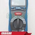 CEM DT-5500 Digital Insulation Tester Megger MegOhmMeter CAT III 1000V, 2000 Meg