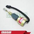 DIESEL SHUT OFF SOLENOID 3932530 SA-4756-24 5.9L 6BT Excavator Solenoid Switch