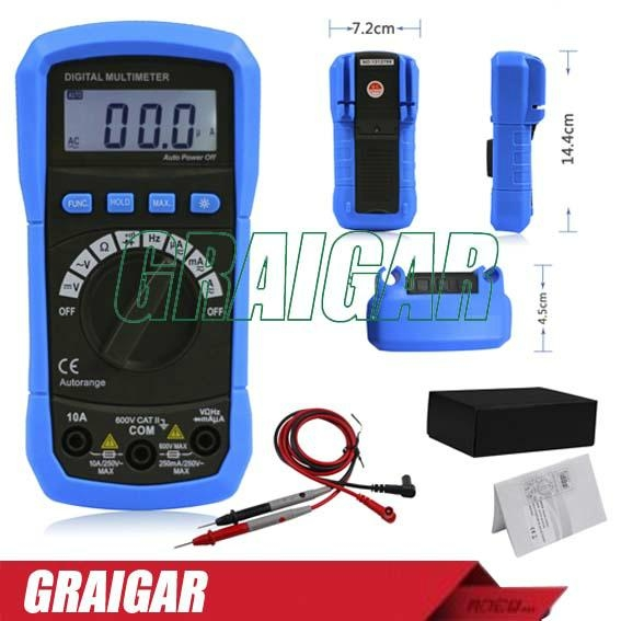 Mini BSIDE ADM01 AutoRange Digital Multimeter with Frequency Tester 1