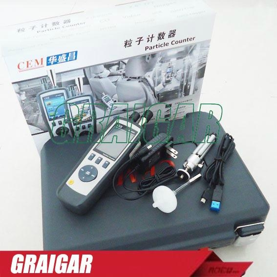 CEM DT-9881 6 channels Particle Counter TFT color LCD display & Camera function  4