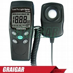 TENMARS TM-202 Digital LED Light Meter Luminometer Lux Meter