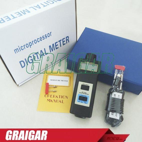 MC-7806 Pin Type Moisture Meter Tester 5