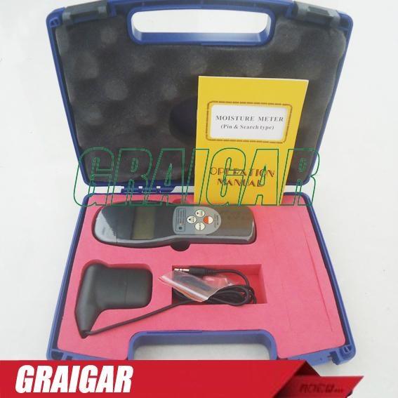 MC-7825PS PIN & Search Moisture Meter Tester 4