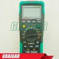 MASTECH MS8236 Autoranging Digital Multimeter LAN Tone Phone Detector Cable Trac 2