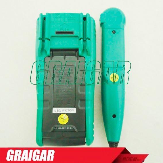 MASTECH MS8236 Autoranging Digital Multimeter LAN Tone Phone Detector Cable Trac 3