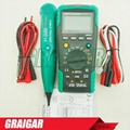 MASTECH MS8236 Autoranging Digital Multimeter LAN Tone Phone Detector Cable Trac 4