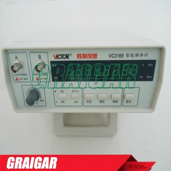 Top Quality 0.01Hz - 2.4GHz Precision Frequency Meter Frequency Counter VC3165 1