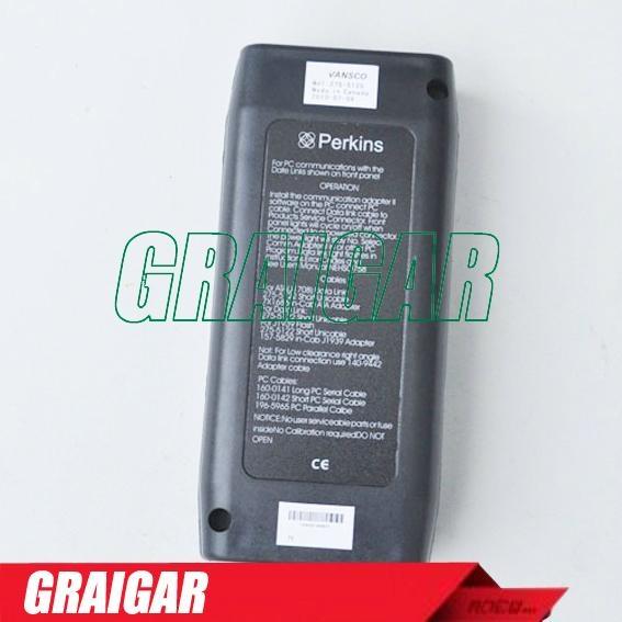 Auto Heavy Duty Truck Diagnostic Scanner Tool Obd2 Perkins EST 2011B  2