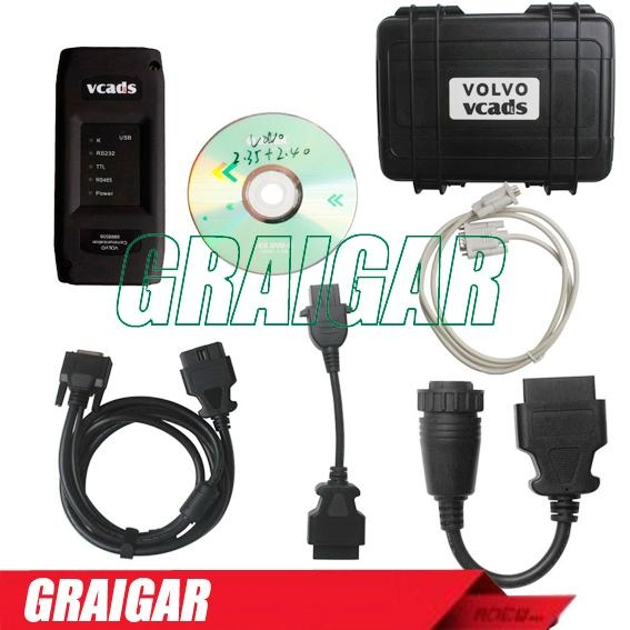 2014 Professional for Volvo Truck Diagnostic Tool Volvo VCADS Pro 2.40 Version  5