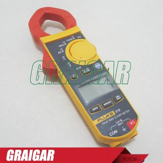 FLUKE 319 True RMS Digital Clamp Meter 37mm Frequency EMH030 2