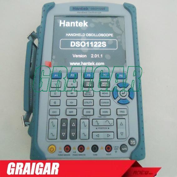 H087 Hantek DSO1122S full isolation handheld oscilloscope multimeter 120MHz 1GSa 1