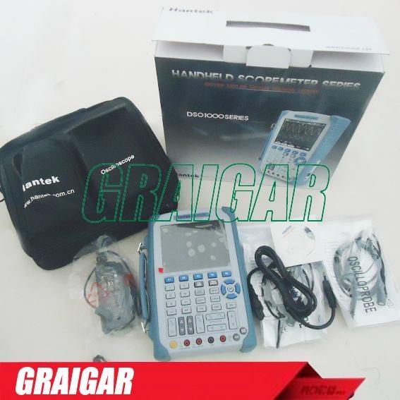 H087 Hantek DSO1122S full isolation handheld oscilloscope multimeter 120MHz 1GSa 5