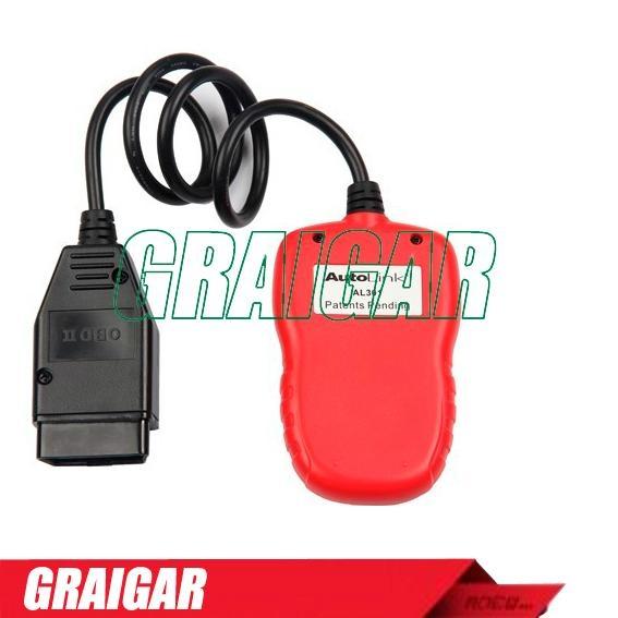 Autel AutoLink AL301 OBDII OBD2 CAN Code Reader Scanner Auto Fault Diagnostic 2