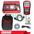 100% Original Autel AutoLink AL619 Update Online OBDII CAN ABS and SRS Scan Tool