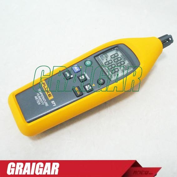 Fluke Humidity Probe : Fluke temperature humidity meter tester psychrometer