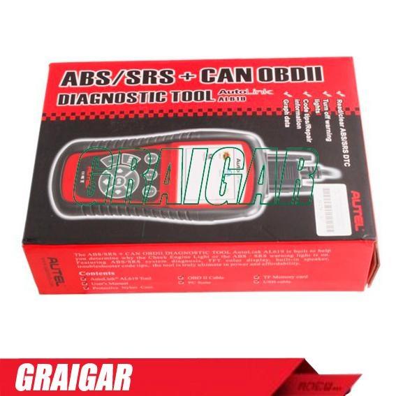 Autel AutoLink AL609 ABS CAN OBDII Diagnostic Tool 4