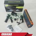 Solar energy Mobile Power Bank Battery Charger MP-S23000 high Capacity 23000mAh