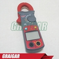 Resistance DC AC Voltage Measuring Tool UA201 Clamp Meter Multitester