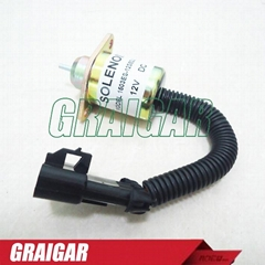 STOP SOLENOID SWITCH/ VALVE FOR KUBOTA ENGINE 1503ES-12A5UC9S