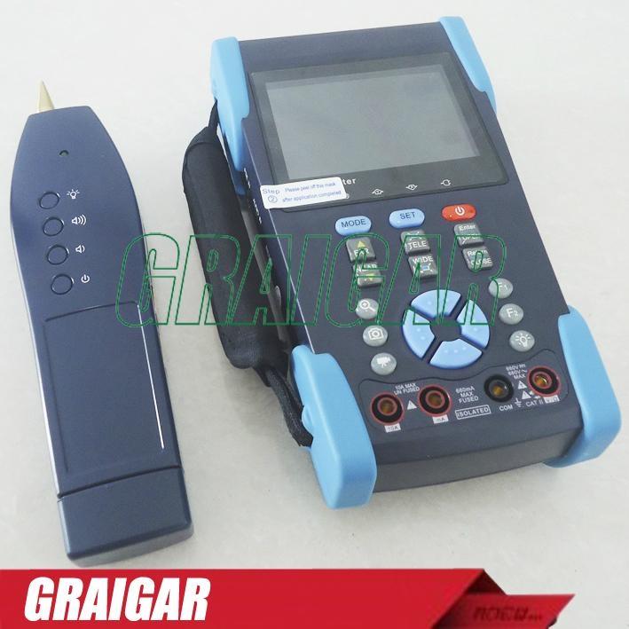 CCTV Tester L-T2613T Camera Test Optical Power Meter TDR test PTZ Wire Tracker 1