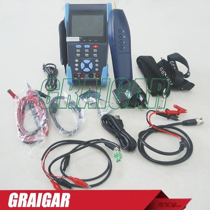 CCTV Tester L-T2613T Camera Test Optical Power Meter TDR test PTZ Wire Tracker 4
