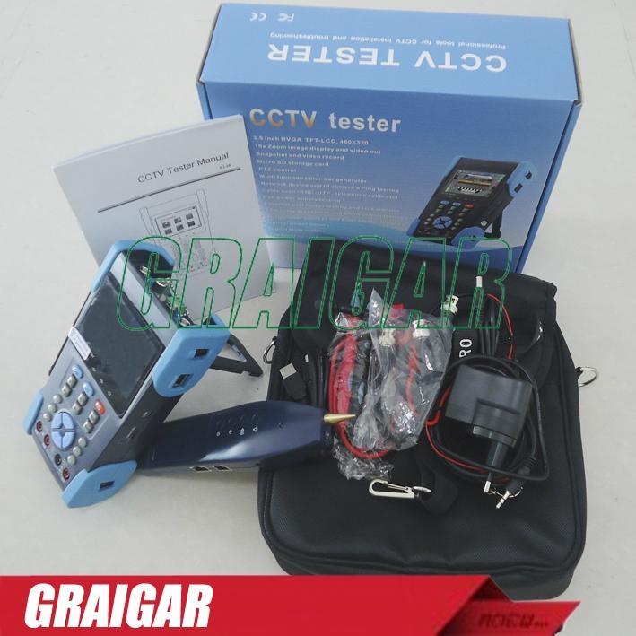 CCTV Tester L-T2613T Camera Test Optical Power Meter TDR test PTZ Wire Tracker 5