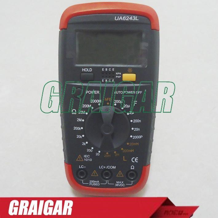 UYIGAO UA6243L Resistance Capacitance Meter Tester Inductance 1