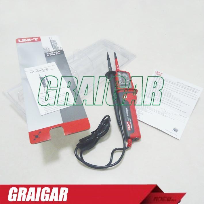 UNI-T UT15C Multifunction waterproof type Voltage Tester Continuity Detector Pen 4