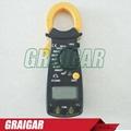 Digital clamp meter ac dc multimeter