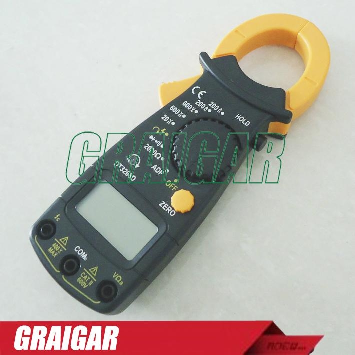 Digital clamp meter ac dc multimeter DT3266D phase sequence measurement 2