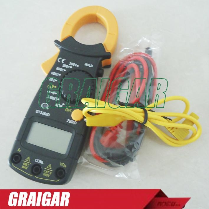 Digital clamp meter ac dc multimeter DT3266D phase sequence measurement 4