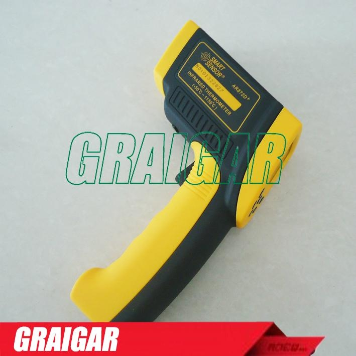 Digital Infrared Thermometer AR872D+ (-50 to 1050c)