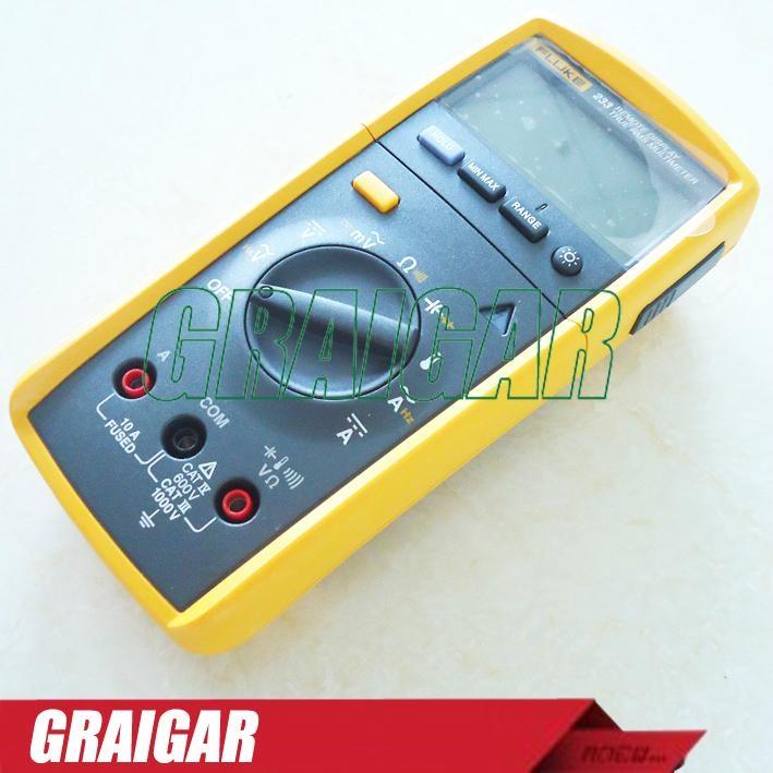 Digital Power Meter With Remote Display : Fluke wireless remote display true rms digital