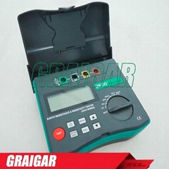 DY4300B 4-Terminal Earth Ground Resistance and Soil Resistivity Tester
