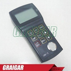 UM-3 High Precision Ultrasonic Thickness Gauge tester  with 0.001mm resolution