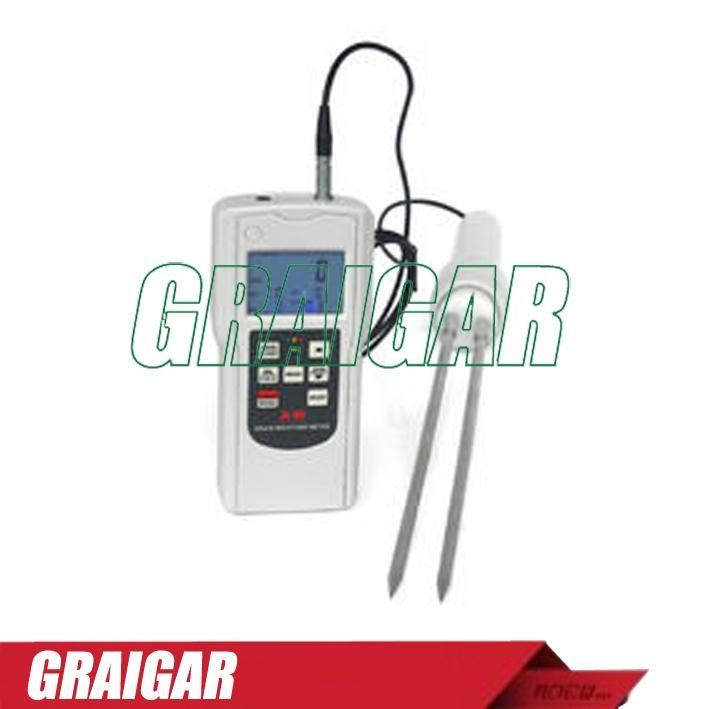 Grain Moisture Tester Meter Gauge AM-128G 1