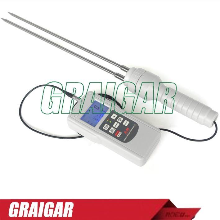 Grain Moisture Tester Meter Gauge AM-128G 2