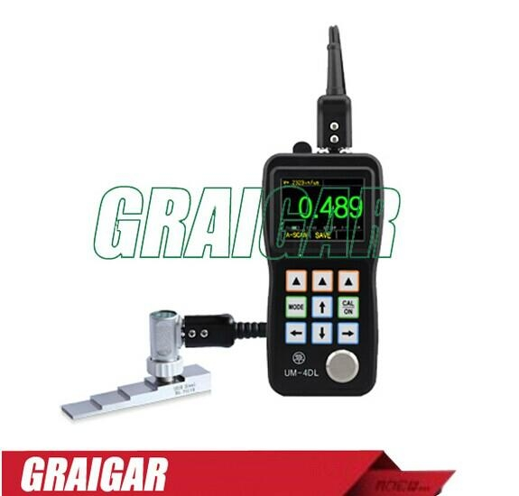 UM-4DL ultrasonic thickness meter tester gauge 2