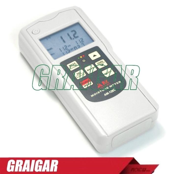 Moisture Tester Meter Gauge AM-128S 2