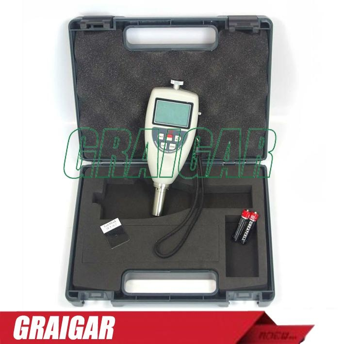 AS-120B Portable Shore Hardness Tester For Hard Rubber With LCD Display 2
